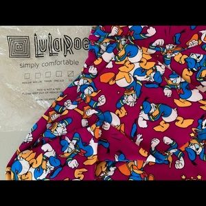 LulaRoe Leggings ~ Disney Donald Duck